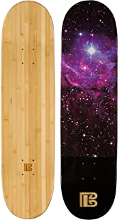 BAMBOO skateboards 星云图案滑板板面 Only–more POP 持续 Longer than 枫木环保