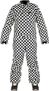 L1 HELLDIVER ´20 女士滑雪板连身衣,单板连体服,2 层带通风口,常规合身,工作风格