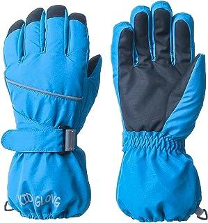 TRIWONDER 儿童滑雪滑雪手套 - 防水冬季保暖手套保暖羊毛雪手套