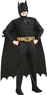 Secret Wishes 万圣节角色扮演 儿童款蝙蝠侠服装(产品编号881290) SEC-881290 S 多色