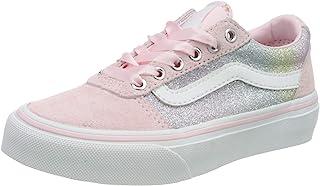 Vans 范斯 女童 Ward 绒面/帆布运动鞋