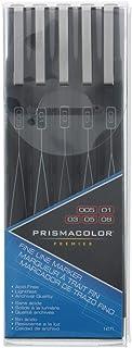 Prismacolor Sanford 高级标记笔套装,5 / Pkg,精细线,黑色