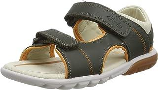 Clarks Rocco Wave K 男童系带凉鞋