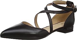 Geox 健乐士女式 D CHARYSSA B 芭蕾平底鞋 黑色 3 UK