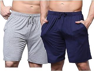 Sahara 男式 * 纯棉休闲睡裤 2 色 2 件装 - 休闲风格,穿着舒适