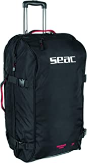 SEAC Equipage 1000,潜水装备滚轮背包,140 升,30 x 17 x 15 英寸,大号行李装备包