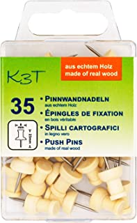 K3T 木质布告栏针,35 件装