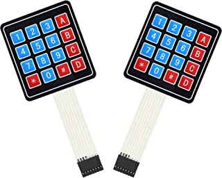 RIIEYOCA 2 件 16 键 4 x 4 薄膜开关键盘