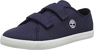 Timberland 中性儿童 Newport Bay 帆布 2 Strap Oxford (青少年) 运动鞋