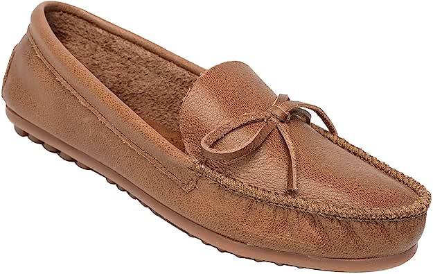 Minnetonka 女士 Kelsea 莫卡辛鞋