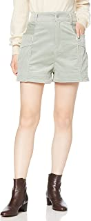 MILKFD 灯芯绒裤 CORDUROY SHORT PANTS 女士 LtGREEN ONE SIZE