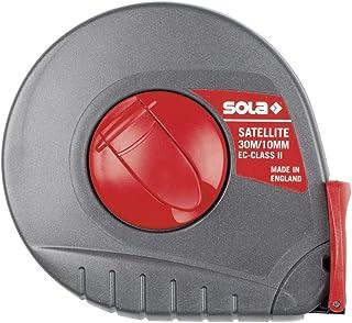 SOLA - 测量工具套装 GMBH & CO ING.GUIDO SCHEYER ST20 胶囊桌尺寸 L.20 米 B.10 毫米 白色喷漆 SOLA Genauigk.II