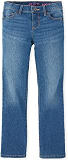 The Children's Place 女童靴型牛仔裤,加大码