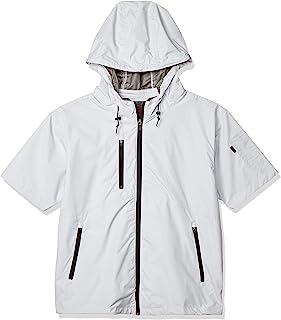 [舒适服装] V8308 村上被服 空调服 舒适内里钛 短袖连帽防寒夹克服 男款 025-V8308