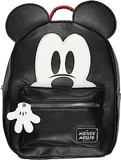 Disney 米奇老鼠 3D 人物耳朵人造皮革迷你背包钱包