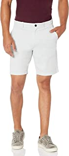 Perry Ellis 男式纯色斜纹 Ff Grmnt Dye Shrt 短裤