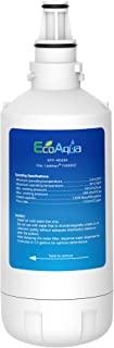 EcoAqua EFF-6043A 替换滤芯,兼容 Liebherr 744000200,7440002 冰箱滤水器