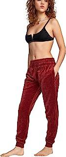 RVCA 女式天鹅绒长裤
