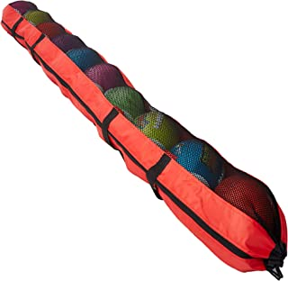 XL 足球手提袋 – 超长 94 英寸(约 236.2 厘米)运动行李包,带背包携带带 – 可容纳 10 个足球 – 旅行包适合多个球和小配件 – 练习、训练、游戏和锻炼
