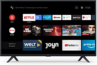Mi 小米 智能电视 4A 32英寸(高清LED智能电视,三重调谐器,Android TV 9.0,带麦克风的遥控器,Amazon Prime Video和Netflix)
