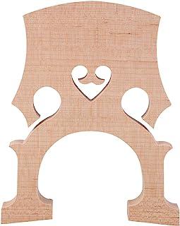 1/2 大提琴桥耐用 1/4 大提琴桥抗腐蚀,适合大提琴爱好者表演(大提琴尺寸 1/8)