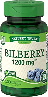 Nature's Truth New Bilberry 1200 mg 100 Capsules