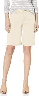 LEE 女式常规版型卷边百慕大短裤