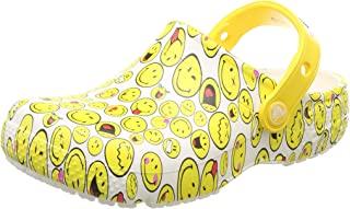 crocs 卡骆驰 Fun Lab 男女通用笑脸图案洞洞鞋