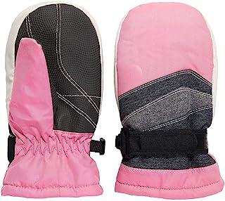 Igloos 女童塔斯隆易开防水滑雪手套 – 隔热,适合寒冷冬天