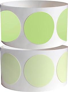 ProTapes 专业发光点胶带,100 英寸长 x 1 英寸宽(约 254 厘米 x 2.5 厘米)厚,15 密耳,用于在黑暗中标记发光(1 件装)