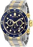 Invicta 男士 0077 Pro Diver 计时码蓝色表盘手表