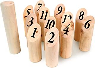 Les Zamibois Les Zamisbois 049712 木锥,22 厘米,适合 6 岁以上儿童,木制