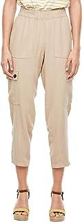 s.Oliver 女士常规版型:亚麻混合裤