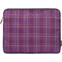 KOKUYO 国誉 扁平袋 KOKUYO ME A5尺寸 格子 紫色 KME-LFPH301DV