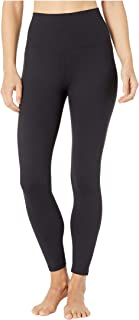 Manduka 女式 Fnd Leg-Hr 7/8 W/Media Pkt-Black-XL