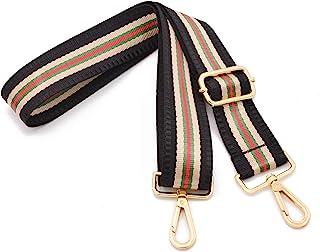 宽肩带可调节替换腰带吉他风格斜挎手提包钱包