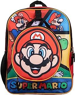 儿童马里奥背包带午餐盒套装