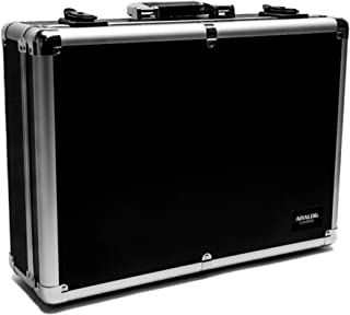 模拟外壳UNISON 外壳适用于电子八爪或类似的样品(运输箱,铝制角保护,带提手的软垫盖),黑色