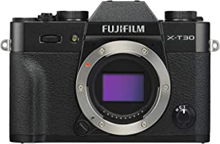 Fujifilm 富士 X-T30 无反光数码相机 黑色(仅机身)