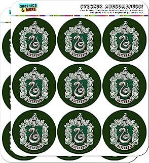 """哈利波特 Slytherin 彩绘徽章规划日历剪贴簿工艺贴纸 透明 18 2"""" Stickers SCRAP.CL.STICK02.WBGAM037.Z004728_8"""