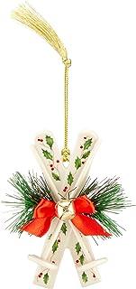 Lenox 中国装饰品 Jolly Santa 奶油色 869892