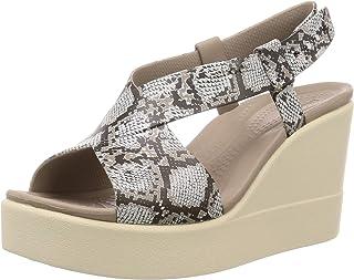 Crocs 卡骆驰 女士Brooklyn高跟休闲凉鞋