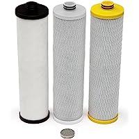 Aquasana 阿克萨纳 厨下净水器标配替换滤芯AQ-5300-R