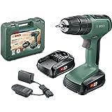 Bosch Cordless Hammer Drill UniversalImpact 18 (2x Batteries…
