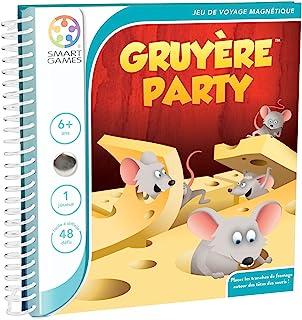 Smartgames - SGT 250 FR-8 - Gruyère Party - 思想和逻辑游戏