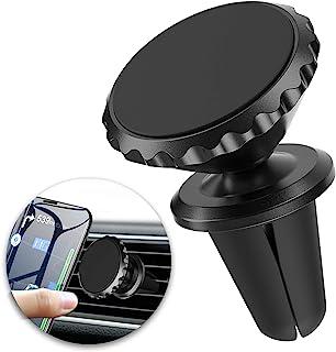 ORIbox 手机车载支架,强力磁铁通风口安装,360° 旋转磁性车载手机支架支架,适用于所有手机