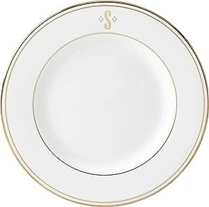 Lenox 联邦金块交织字母餐具 字母 S 872705