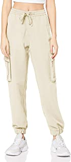 Urban Classic 女士软管女士粘胶斜纹工装裤连衣裙