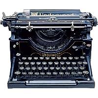 Paper House Productions M-0158E 模切冰箱磁贴,Underwood 打字机(6 件装)
