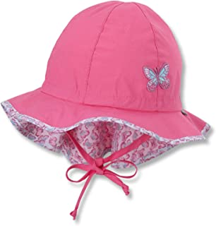 Sterntaler 女童翻盖,带绑带,颈部保护和刺绣蝴蝶